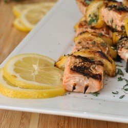Spiced Salmon Kebabs Recipe