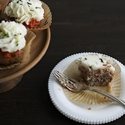 Turkey Meatloaf Cupcakes