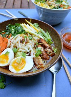 Udon Noodles with Pork Belly Recipe