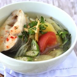 Vietnamese Sweet and Sour Fish Soup recipe