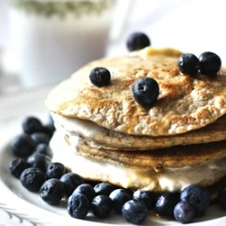 Whole Wheat Oatmeal Pancakes Recipe