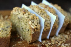 Zucchini Walnut Streusel Bread Recipe