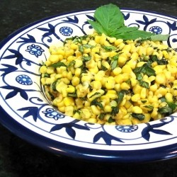 Basil Brown Buttered Corn