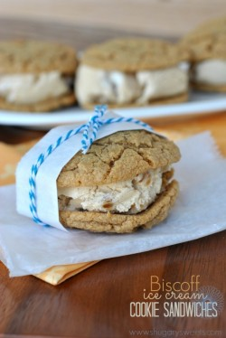 Biscoff Ice Cream Sandwiches Recipe