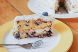 Blueberry Almond Cake Recipe