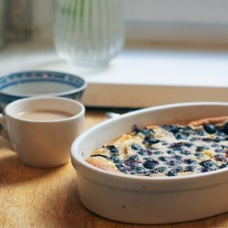 Blueberry Cinnamon Clafoutis Recipe