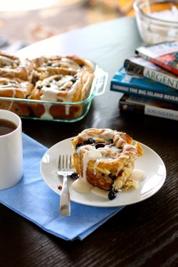 Blueberry Cinnamon Rolls Recipe