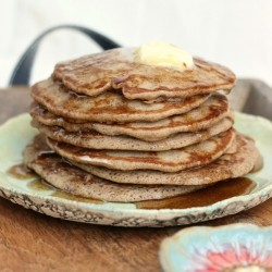 Cinnamon Honey Gluten Free Pancakes Recipe