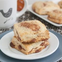 Cinnamon Honey Scones Recipe
