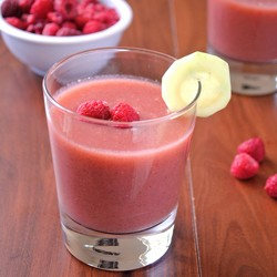 Cucumber and Raspberry Smoothie