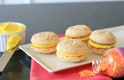 Funfetti Sandwich Cookies Recipe