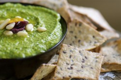 Green Monster Spinach Hummus