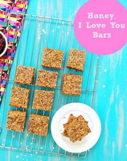 Honey I Love You Almond Oats Bars Recipe