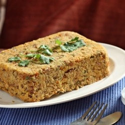 Lentil Vegetable Loaf