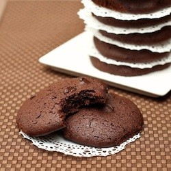 Low Calorie Chocolate Coffee Cookies Recipe
