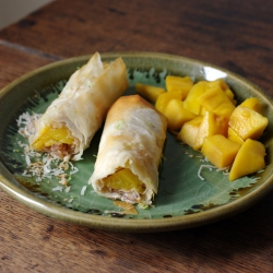 Mango Coconut Hazelnut Cigars Recipe
