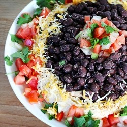 Mexican Volcano Dip Recipe
