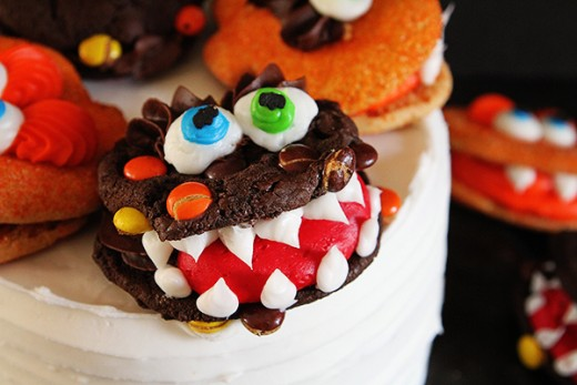 Monster Cookies for Halloween Recipe