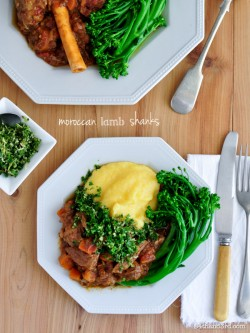 Moroccan Lamb Shanks and Gremolata Recipe