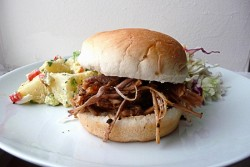 Oven Baked Pulled Pork Sandwiches