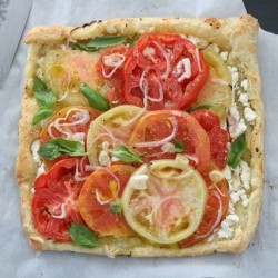 Quickie Heirloom Tomato Tart Recipe