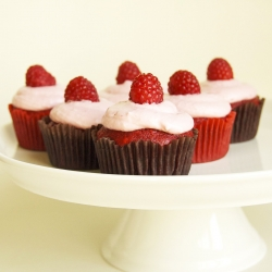 Raspberry Red Velvet Cupcakes Recipe
