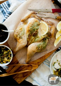 Roast Chicken with Onions Recipe