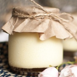 Silky smooth Japanese style pudding