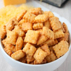 Spiced Cheese Crackers