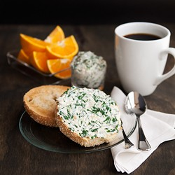Spinach and Artichoke Cream Cheese