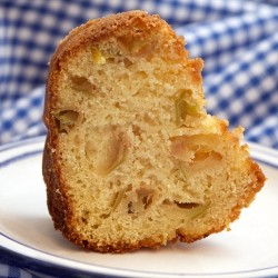 Steamed Apple Biscuit Cake