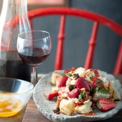Strawberry Panzanella Recipe