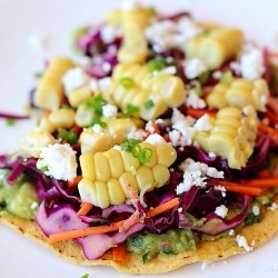 Summer Corn Tostadas Recipe