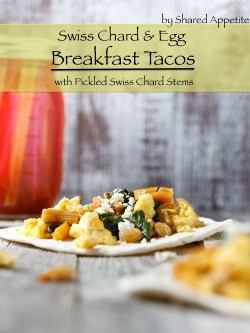 Swiss Chard and Egg Breakfast Tacos Recipe