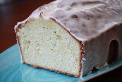 Toasted Coconut Tangerine Pound Cake