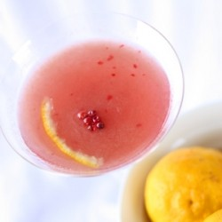 Tokyo Cosmo with Yuzu and Pink Peppercorns
