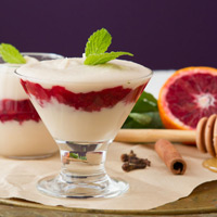 Vegan Parfaits with Lemon Cream Recipe