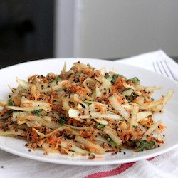 Asian Quinoa Coleslaw