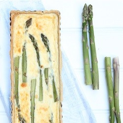 Asparagus Buttermilk Ricotta Tart Recipe