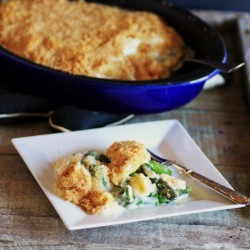 Asparagus Eggs in Mornay Sauce Recipe