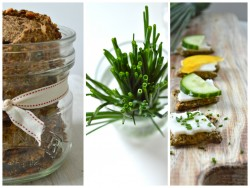 Baked Chia Seed Crackers Recipe