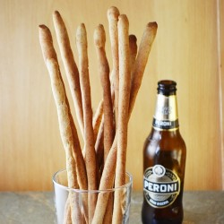 Beer Black Pepper Grissini Recipe