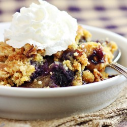 Blueberry Crunch Dump Cake Recipe