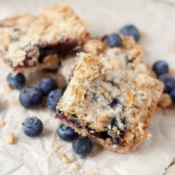 Blueberry Oatmeal Crumble Bars Recipe