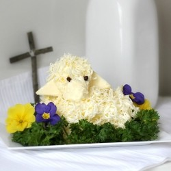 Butter Lamb for Easter