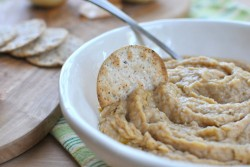 Caramelized Onion White Bean Dip Recipe