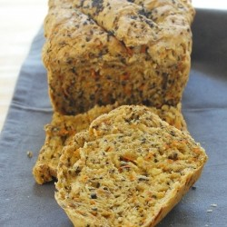Carrot Sesame Seed Bread Recipe