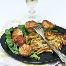 Chicken and Parsley Meatballs