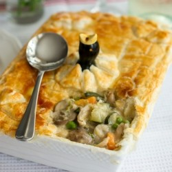 Chicken Vegetable Pie Recipe