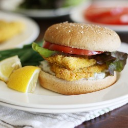 Cornmeal Crusted Catfish Sandwich Recipe